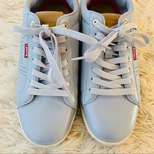 Vintage Vibe retro  9 Levi sneakers Baby Blue